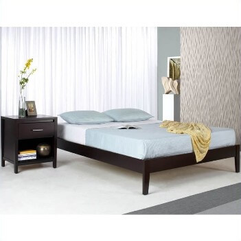 Modus Simple Espresso Finish Cal King Platform Bed