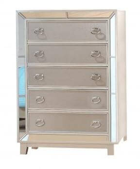 New Classic Stefano Silver 5-Drawer Chest