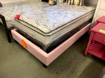 Modus Pink Low Profile Twin Platform Bed